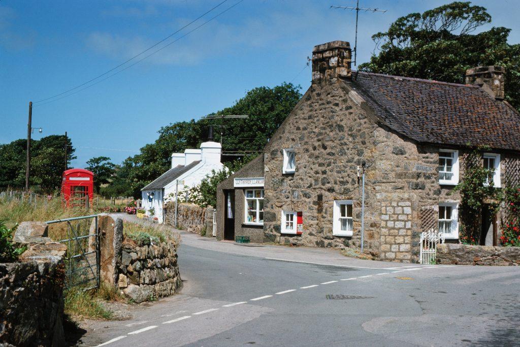 Llangian village, North Wales.